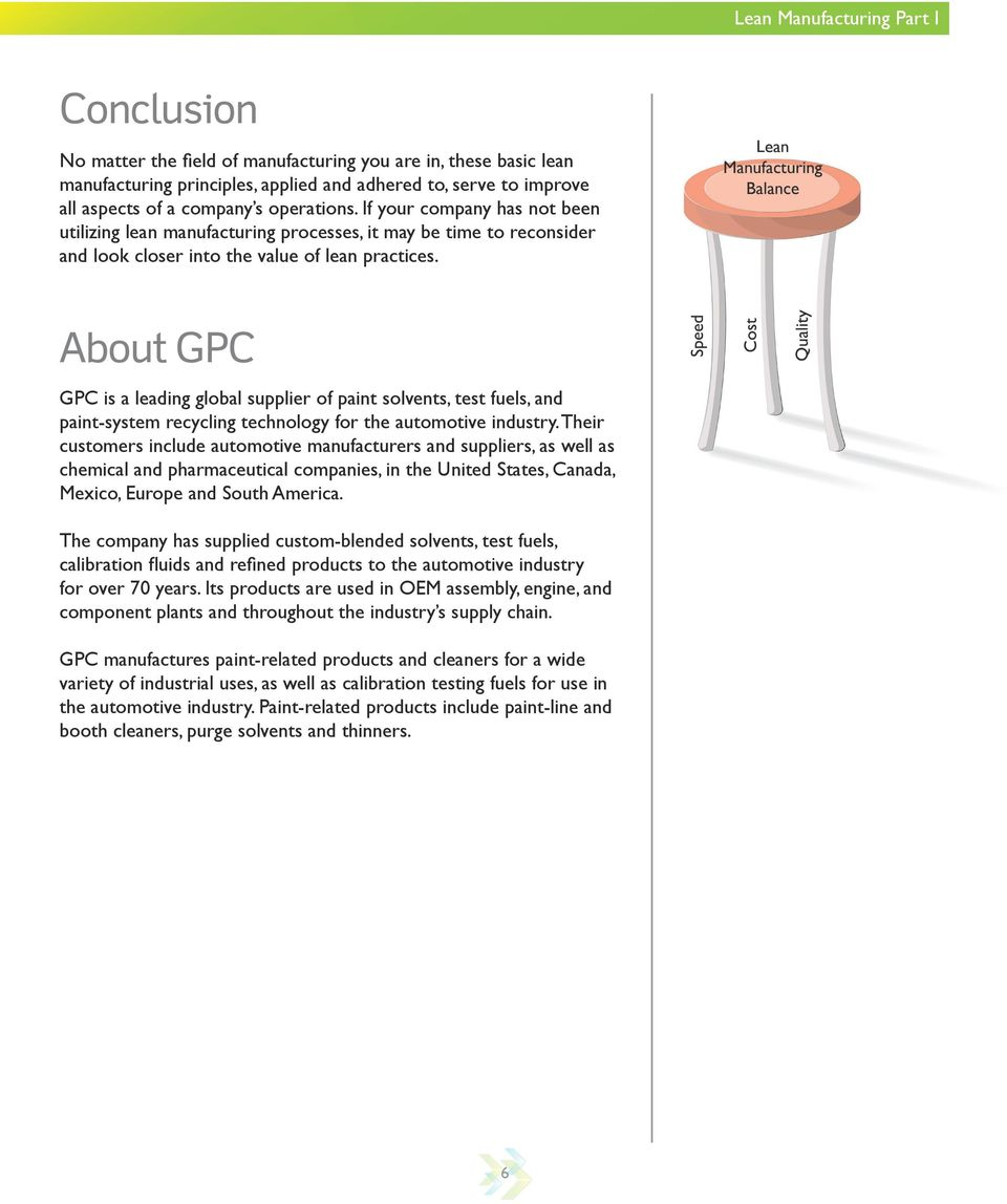 About GPC GPC is a leading global supplier of paint solvents, test fuels, and paint-system recycling technology for the automotive industry.