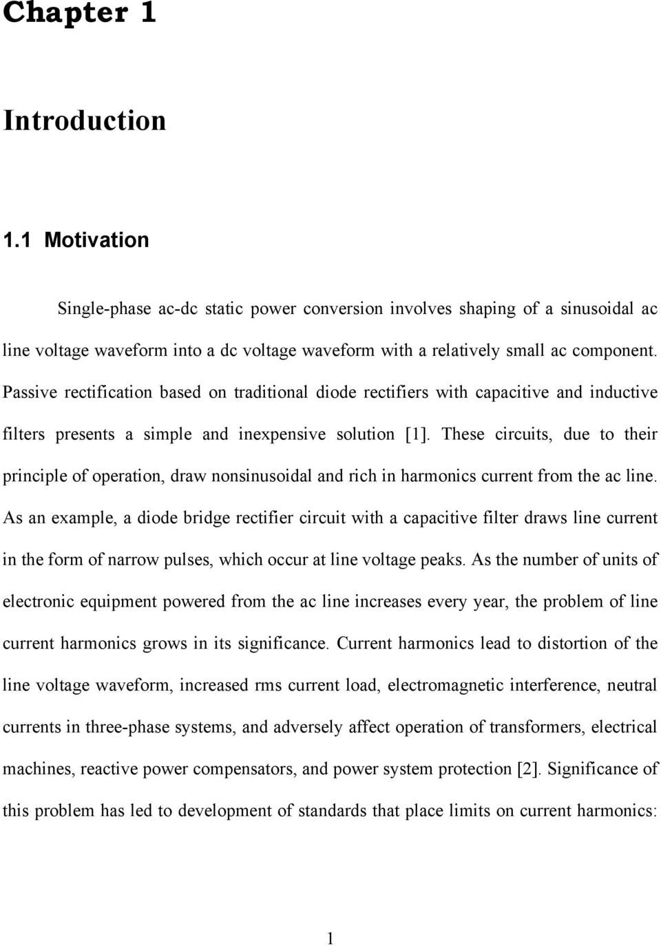 Generalized Average Current Mode Control Of Single Phase Ac Dc Boost Simple Rectifier Circuit Passive Rectification Based On Traditional Diode Rectifiers With Capacitive And Inductive Filters Presents A