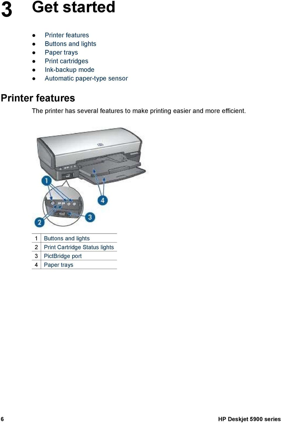 several features to make printing easier and more efficient.