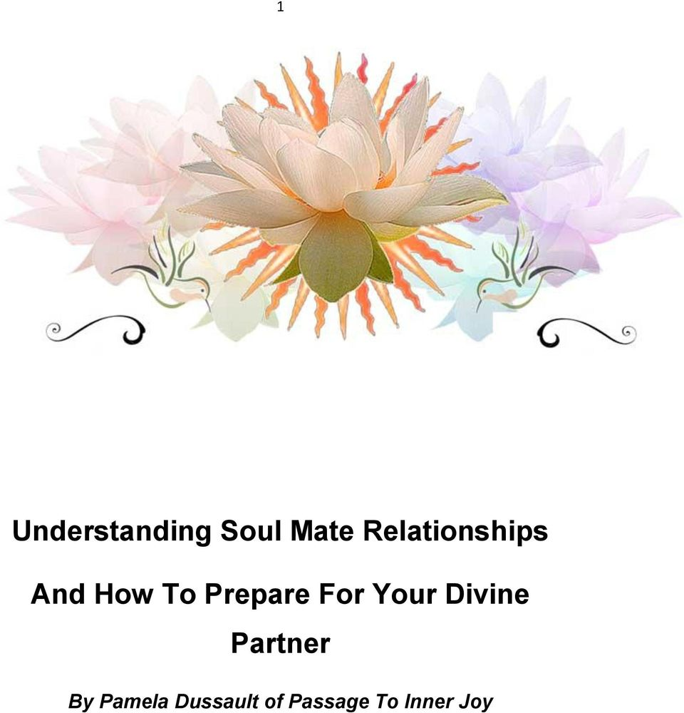 Prepare For Your Divine Partner