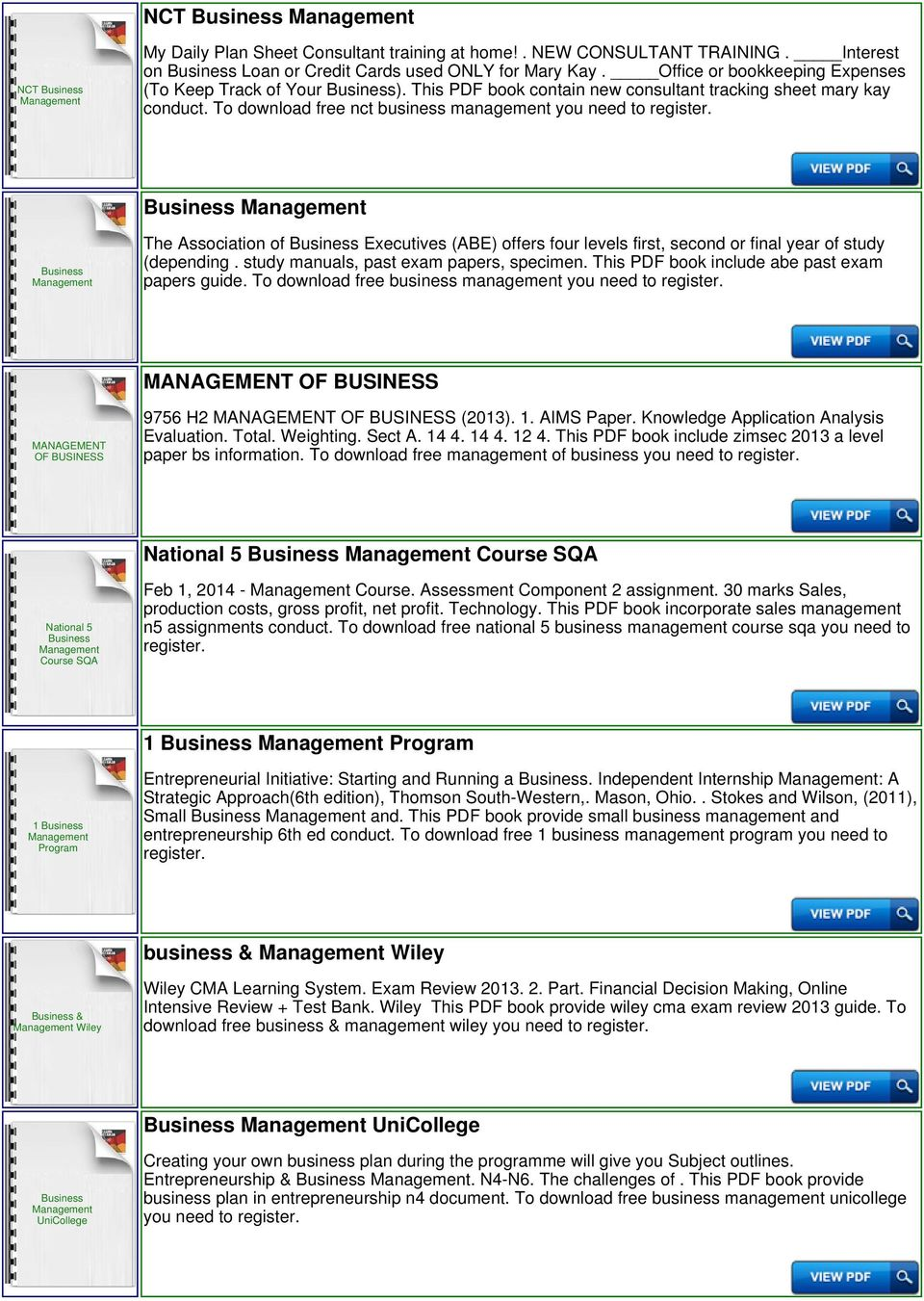 Ib business and management formula booklet pdf to download free nct business management you need to the association of executives abe fandeluxe Image collections