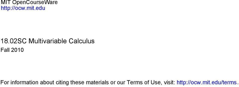 information about citing these materials or