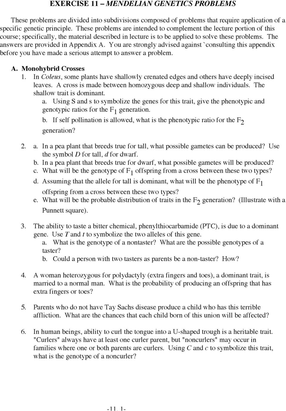 Free Worksheet Genetic Problems Worksheet And Answer genetic problems worksheet answers rringband and answer rringband
