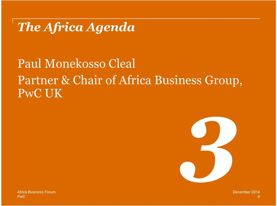 Business Group, UK Africa