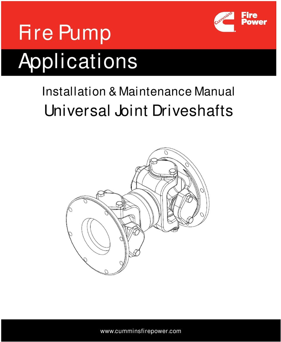 Manual Universal Joint