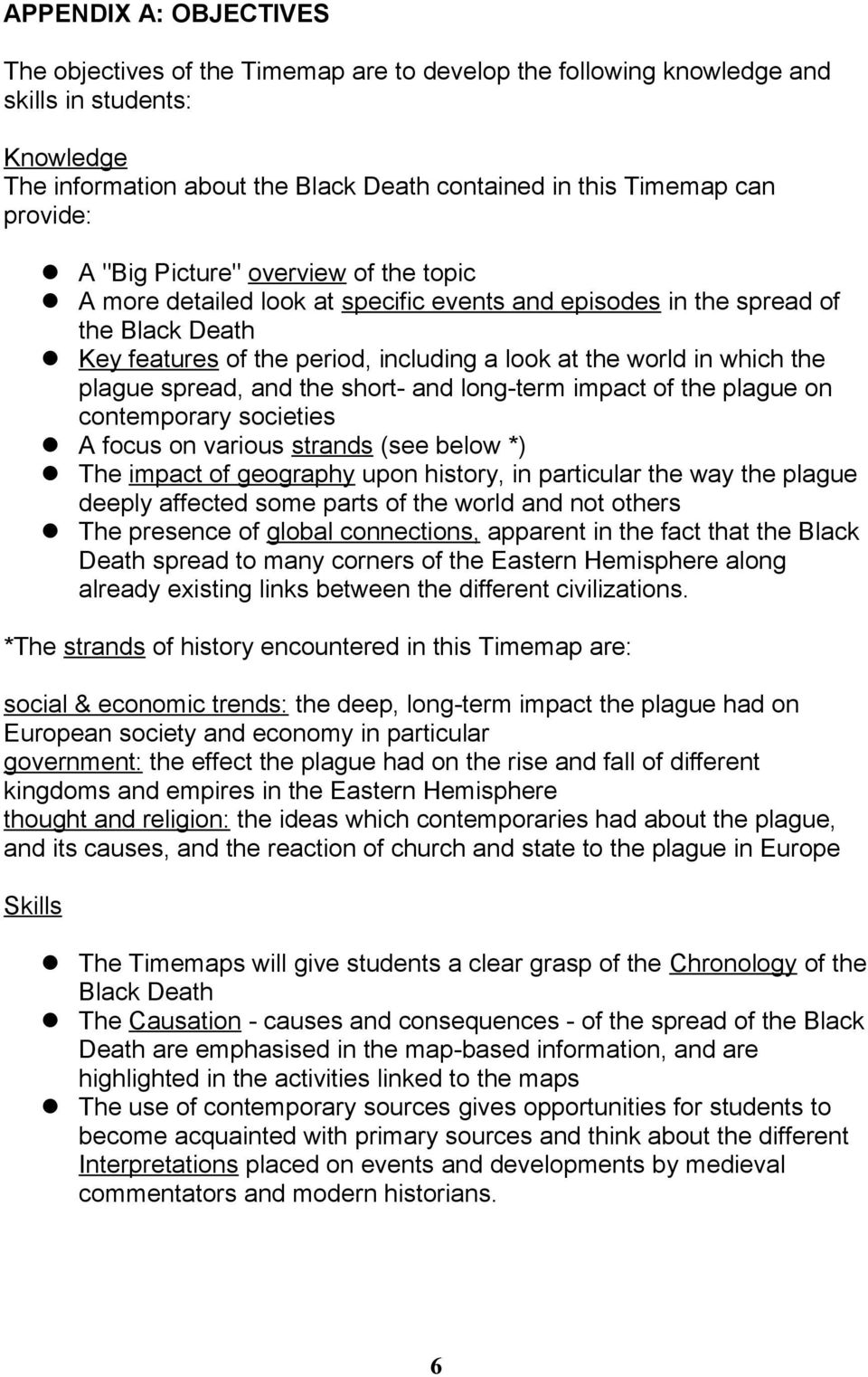 what were the short term effects of the black death