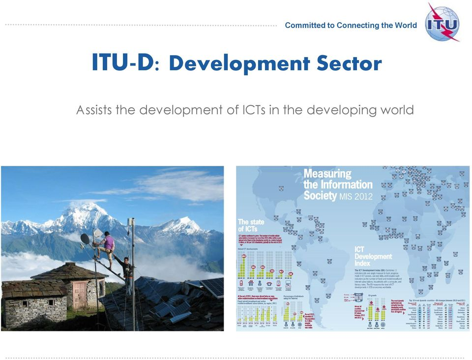 development of ICTs