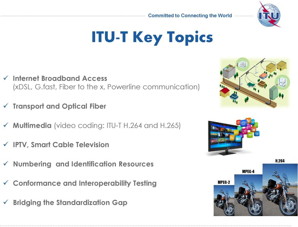 Multimedia (video coding: ITU-T H.264 and H.