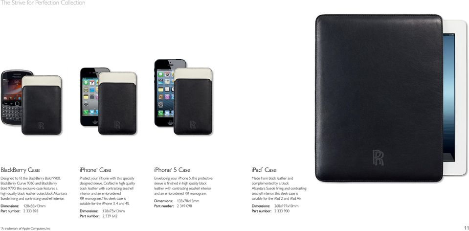 Dimensions: 128x85x13mm Part number: 2 333 898 Protect your iphone with this specially designed sleeve.