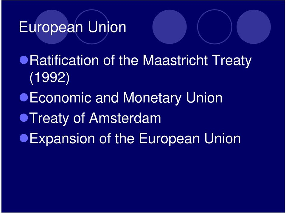 and Monetary Union Treaty of