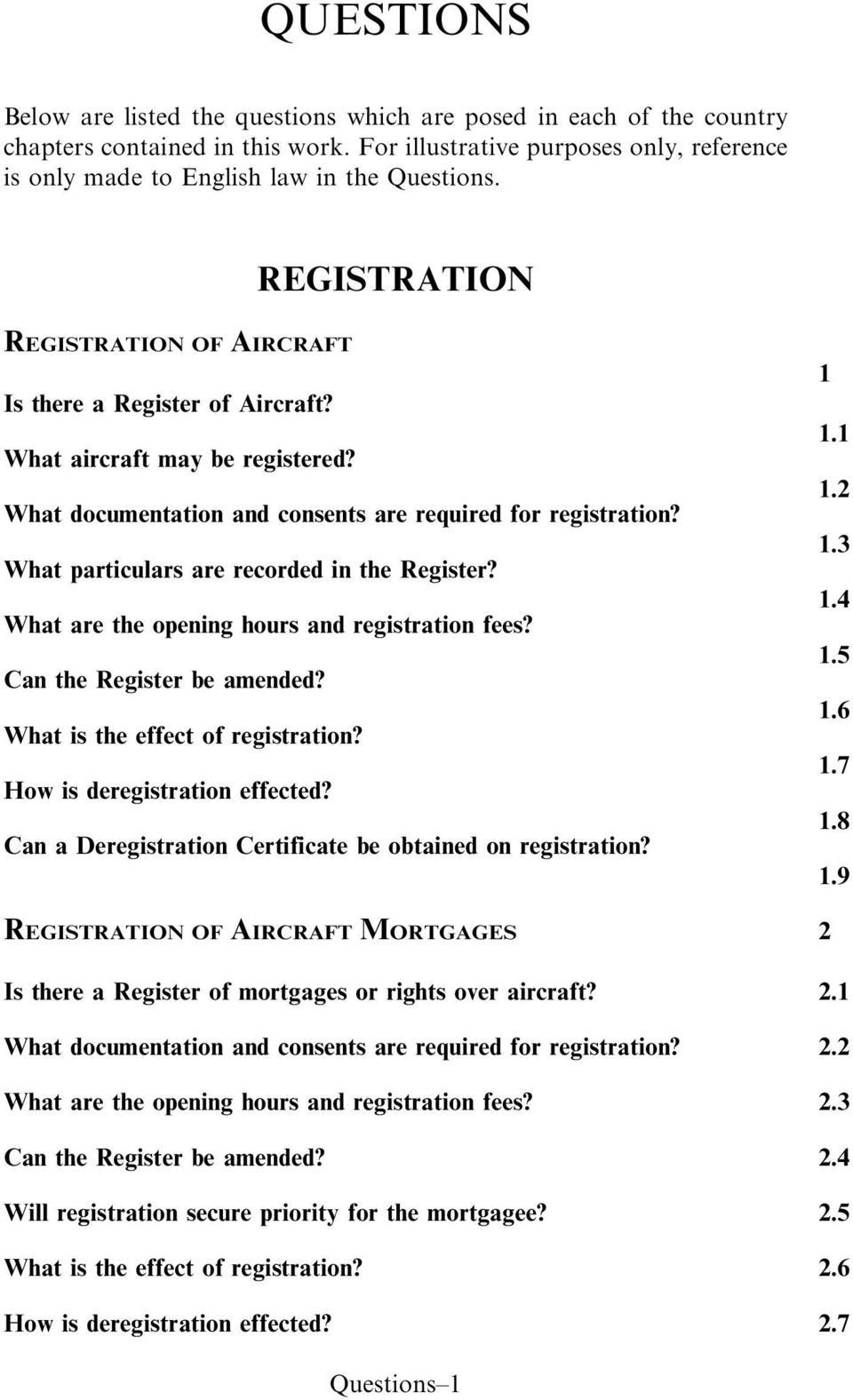 What particulars are recorded in the Register? What are the opening hours and registration fees? Can the Register be amended? What is the effect of registration? How is deregistration effected?