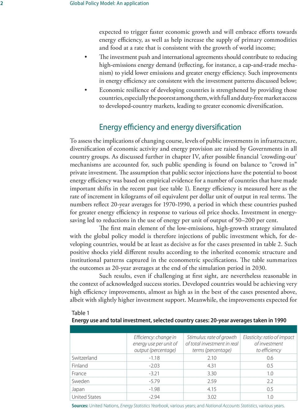 cap-and-trade mechanism) to yield lower emissions and greater energy efficiency.