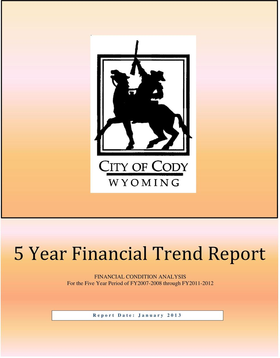 of FY2007-2008 through FY2011-2012 Report