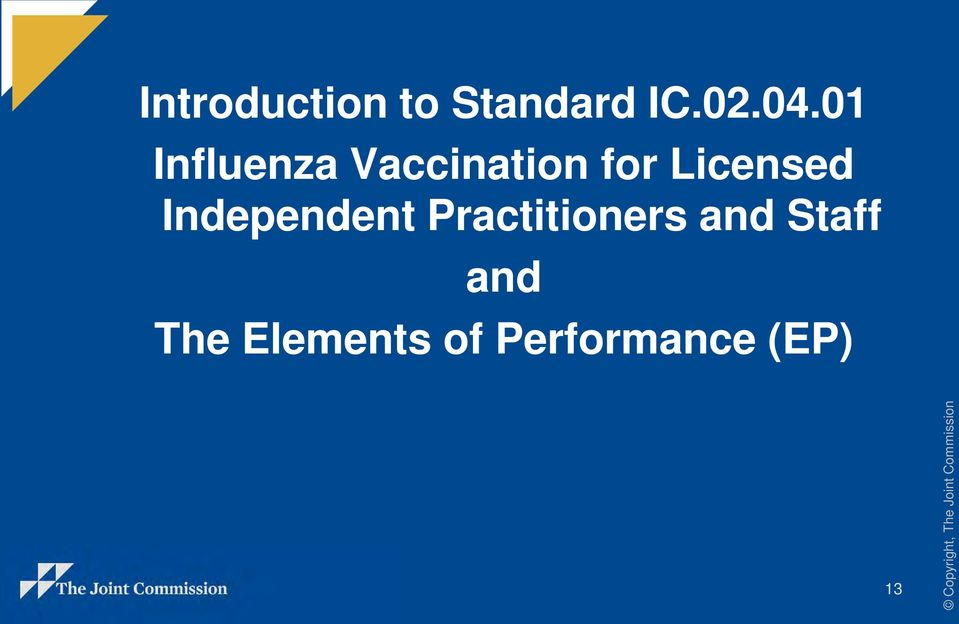 Licensed Independent Practitioners
