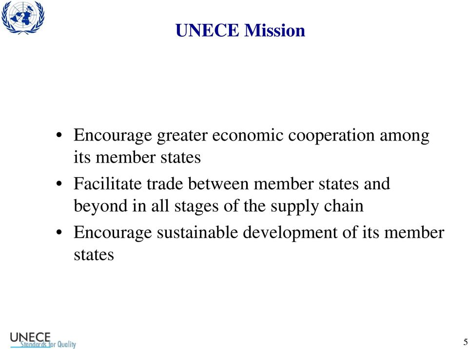 member states and beyond in all stages of the supply