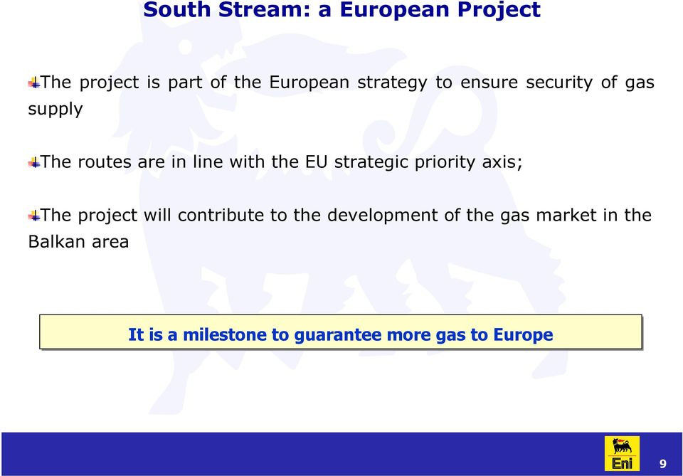 strategic priority axis; The project will contribute to the development of