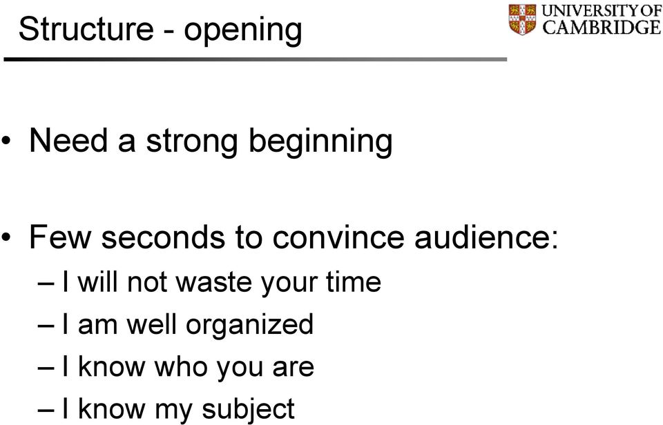 audience: I will not waste your time I