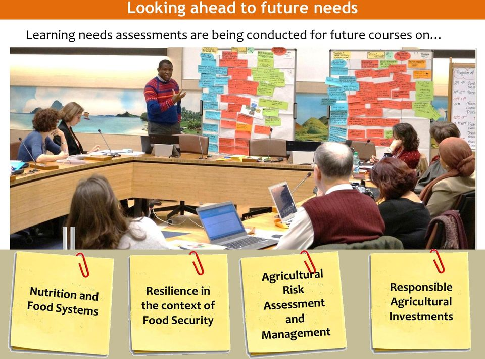 courses on Resilience in the context of Food