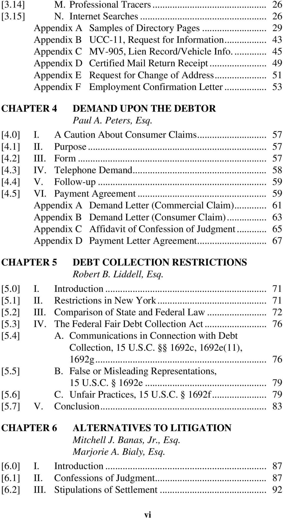 Debt Collection And The Enforcement Of Money Judgments Second