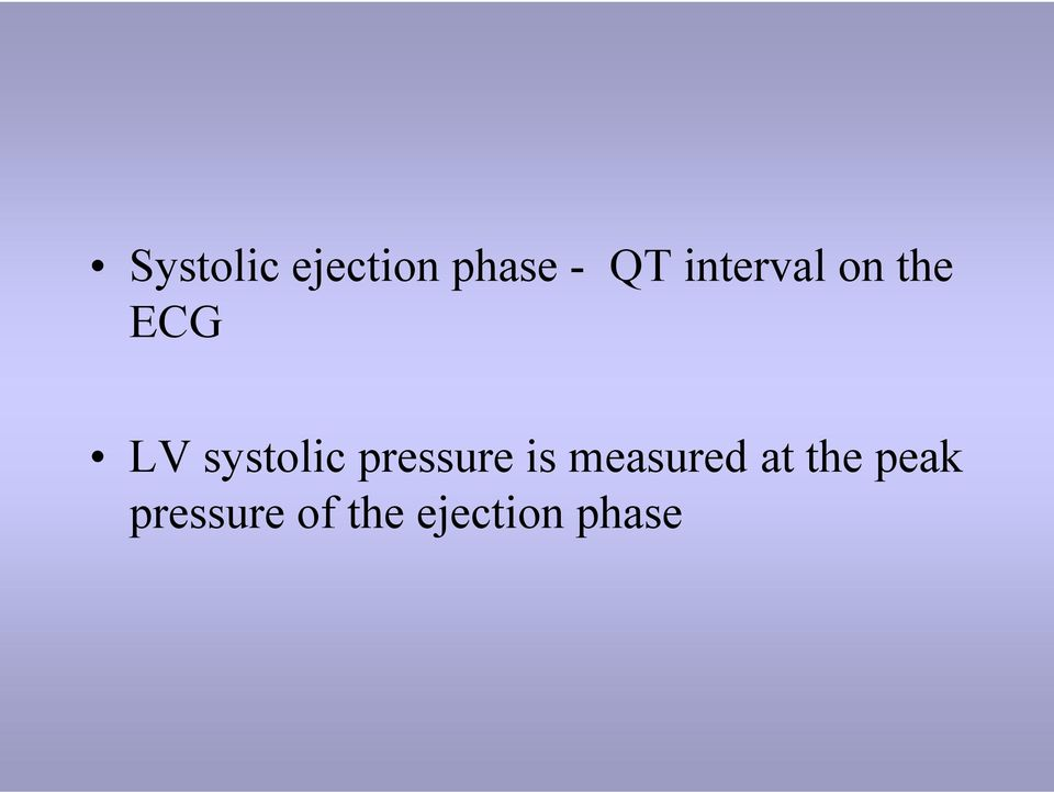 systolic pressure is measured