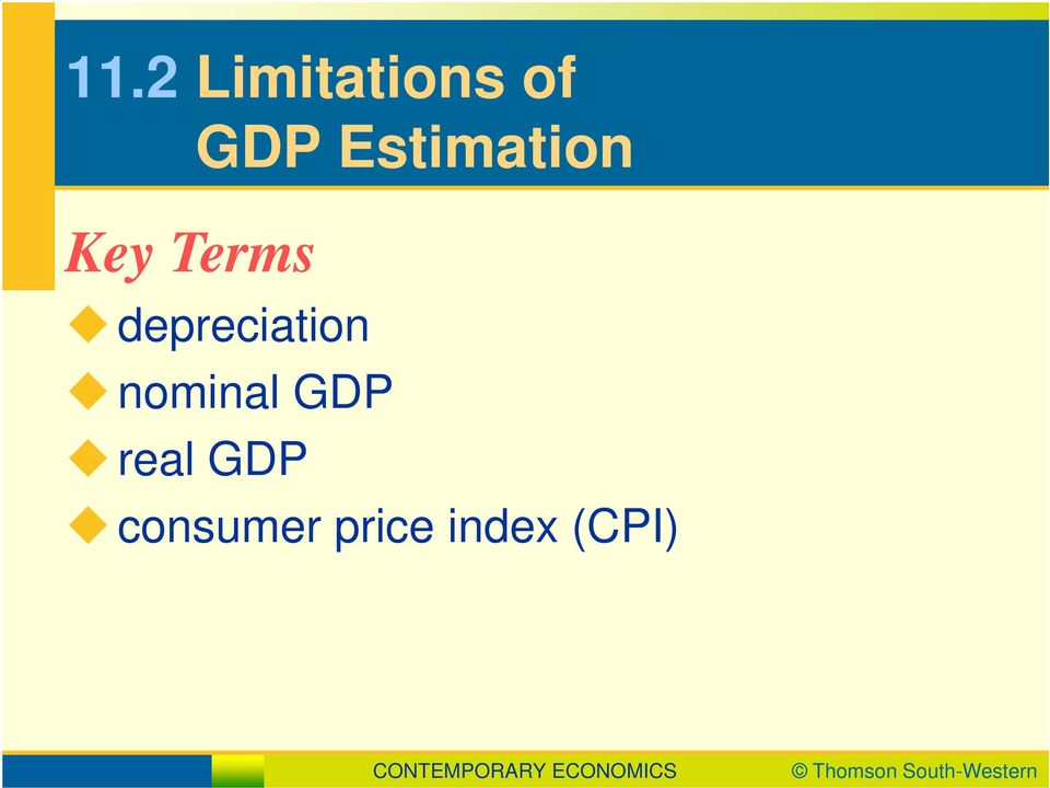 depreciation nominal GDP