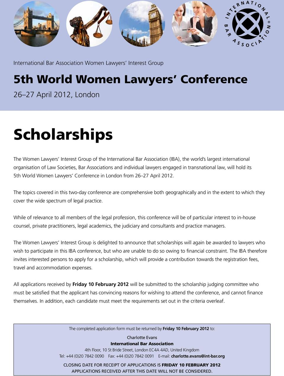 The topics covered in this two-day conference are comprehensive both geographically and in the extent to which they cover the wide spectrum of legal practice.
