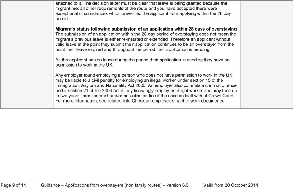 the applicant from applying within the 28 day period.