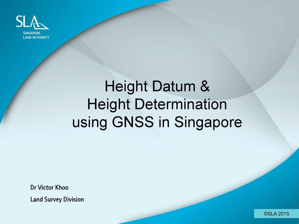 Khoo Land Survey Division 1