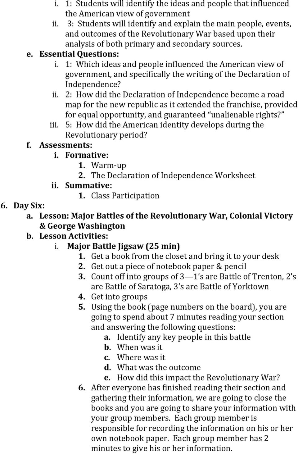 Unit plan the american revolution pdf 1 which ideas and people influenced the american view of government and specifically the fandeluxe Gallery
