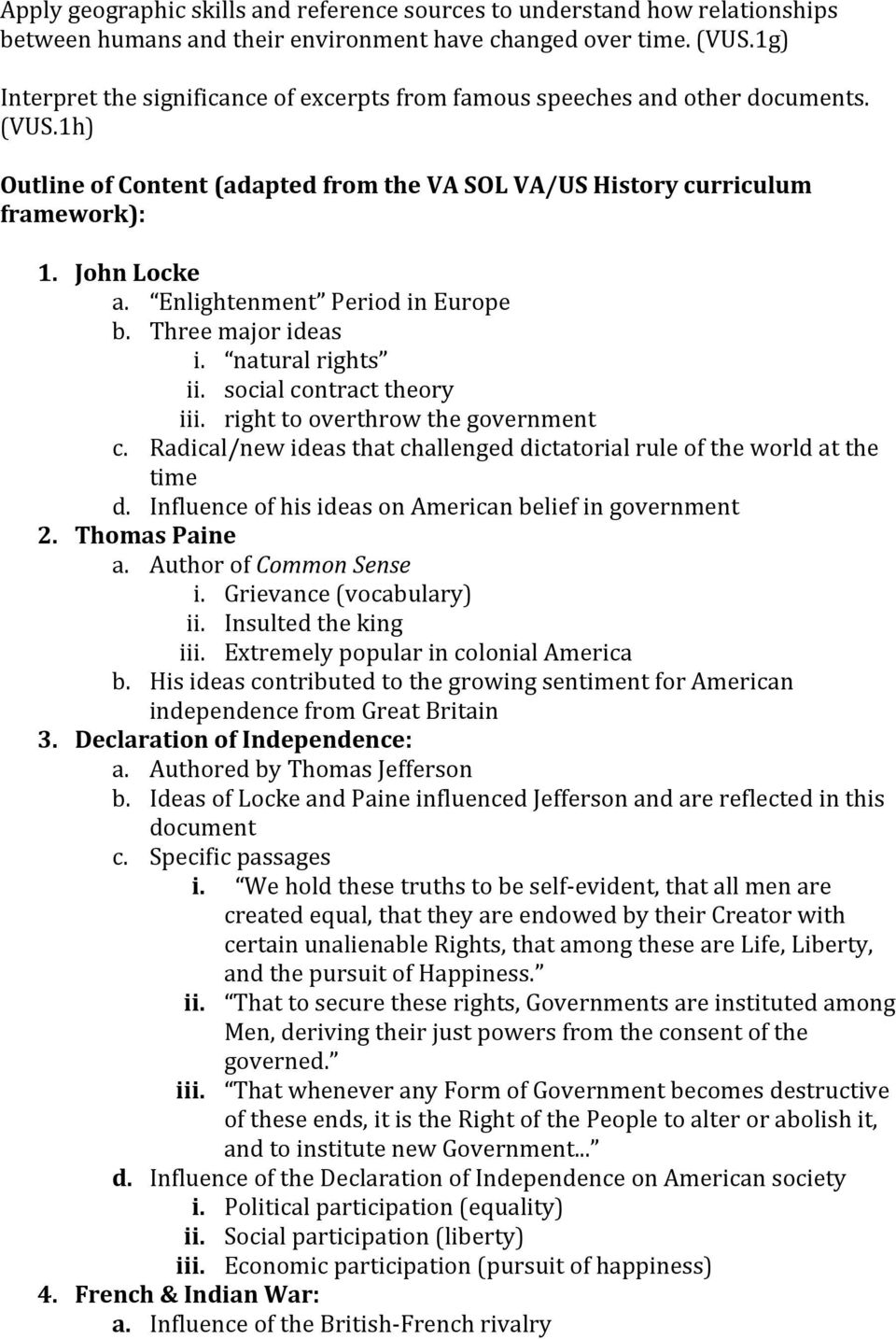 Unit plan the american revolution pdf three major ideas i natural rights ii social fandeluxe Gallery