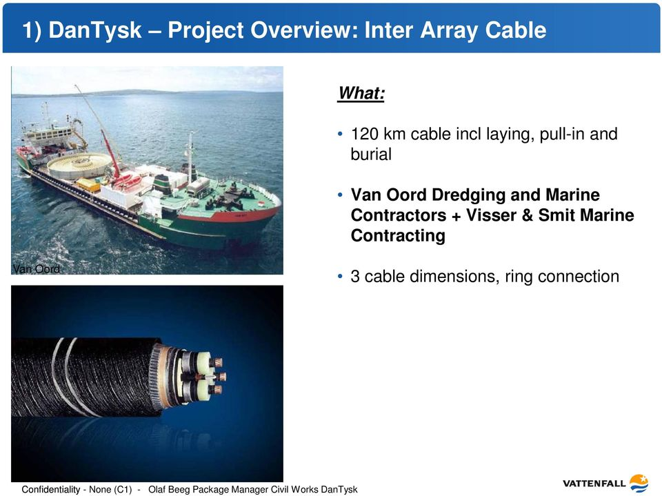 Contractors + Visser & Smit Marine Contracting Van Oord 3 cable