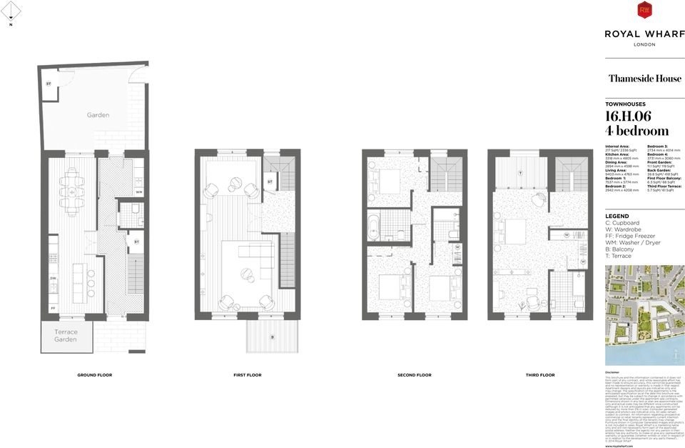 06 217 SqM/ 2336 SqFt 3318 mm x 4805 mm 2894 mm x 4598 mm 9403 mm x 4763 mm