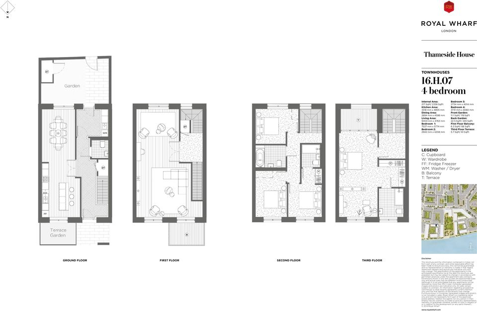 07 217 SqM/ 2336 SqFt 3318 mm x 4805 mm 2894 mm x 4598 mm 9403 mm x 4763 mm