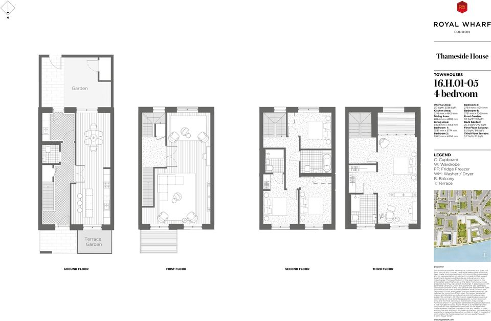 01-05 217 SqM/ 2336 SqFt 3318 mm x 4805 mm 2894 mm x 4598 mm 9403 mm x 4763