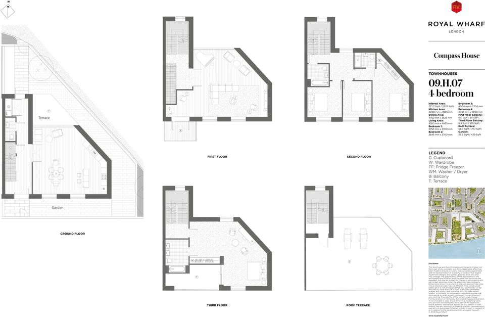 x 3700 mm 3845 mm x 3700 mm 4000 mm x 2700 mm 3445 mm x 2900 mm First Floor