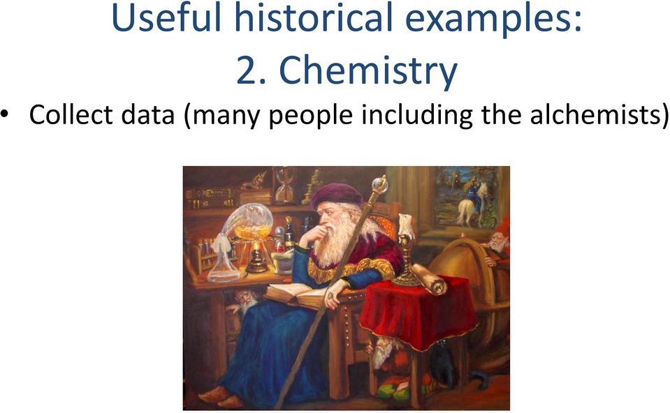 Chemistry Collect data