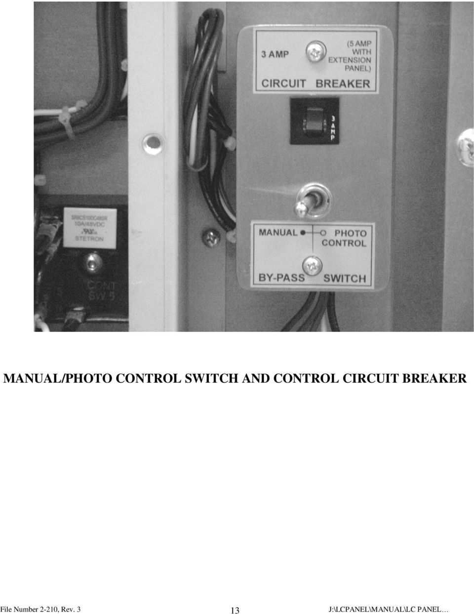 Lighting Control Panel Pdf Circuit Breaker Image Page And