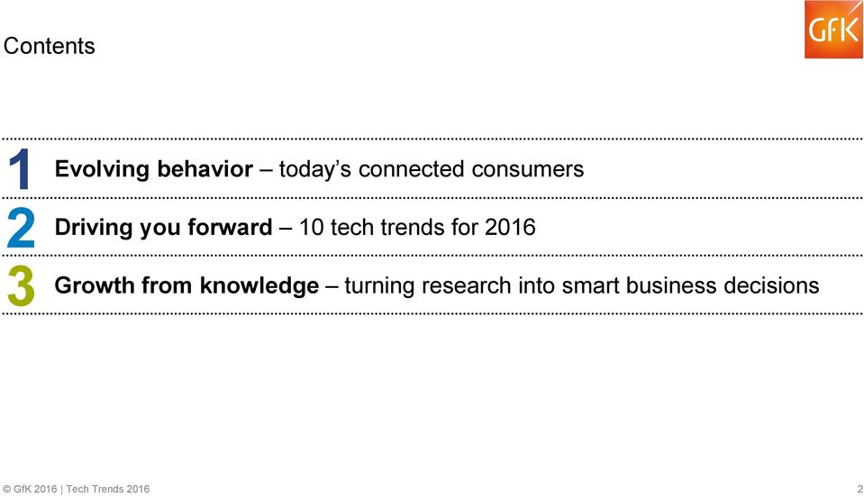 tech trends for 2016 Growth from knowledge