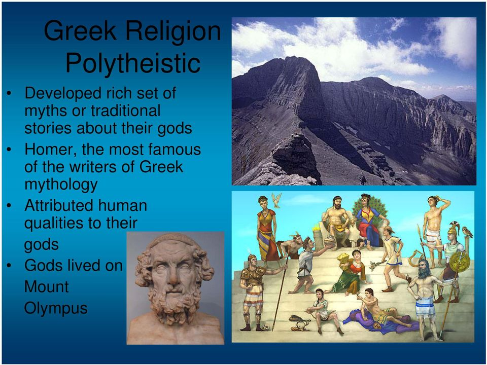 famous of the writers of Greek mythology Attributed