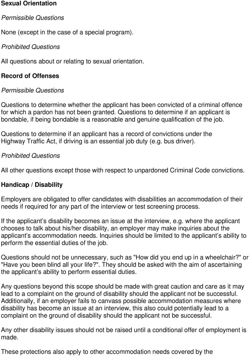 Appropriate Questions to ask in an Interview i - PDF