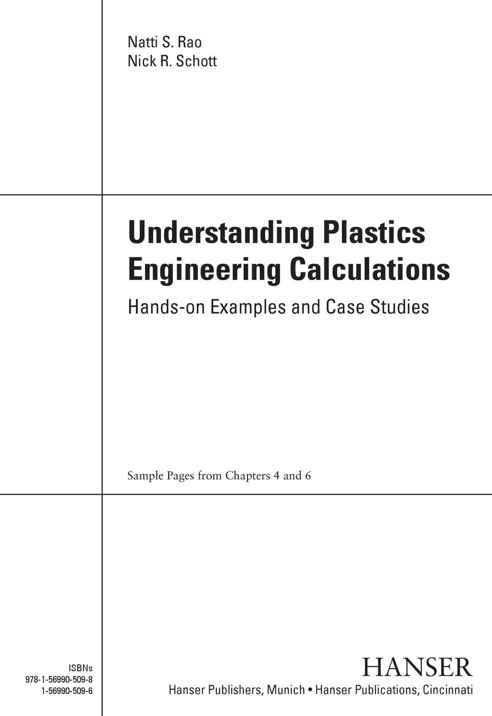 Hands-on Examples and Case Studies Sample Pages from Chapters