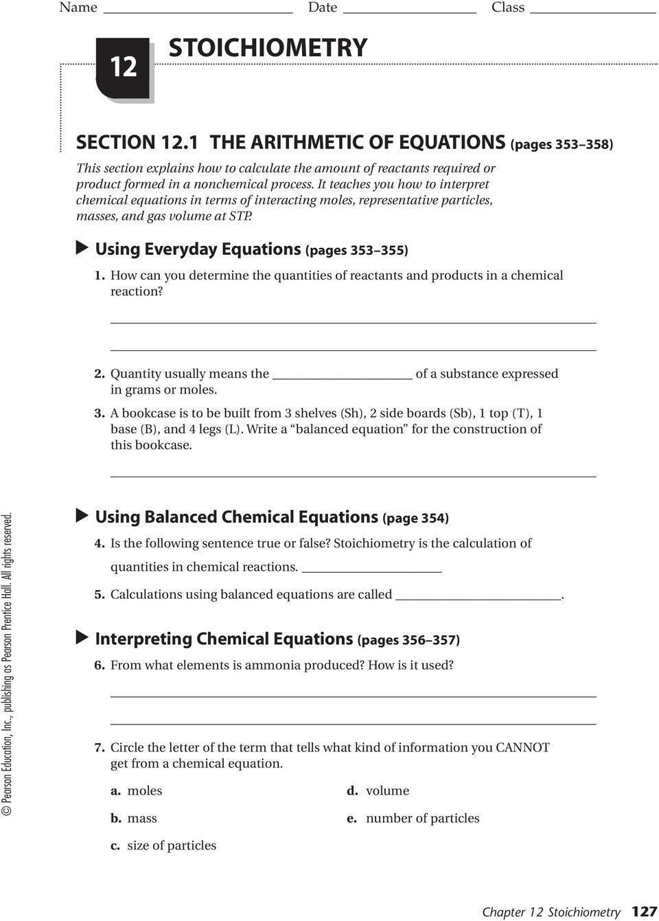 Business Math Worksheets For High School : Business math worksheets with answers emmacarrolletc