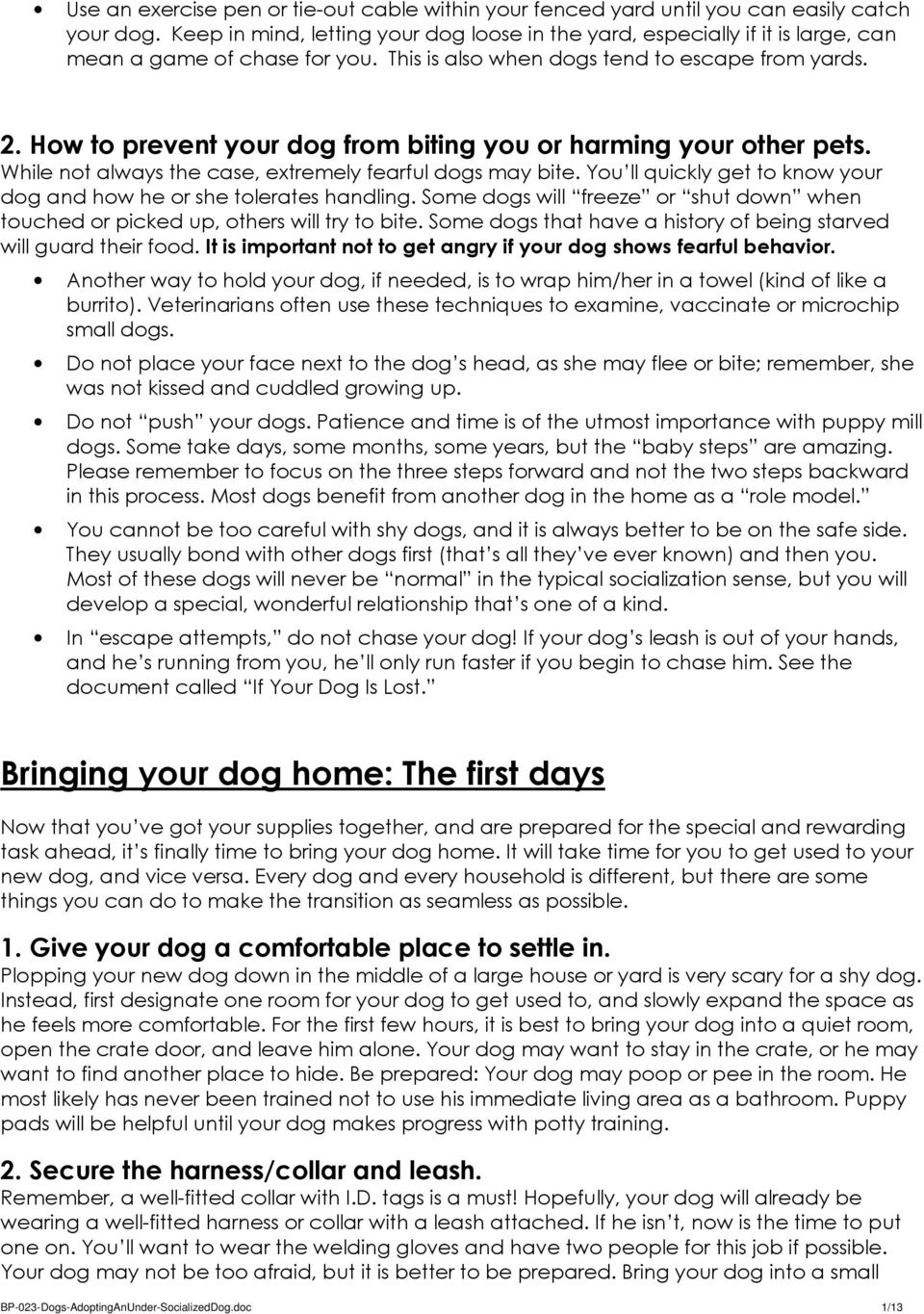 How to prevent your dog from biting you or harming your other pets. While not always the case, extremely fearful dogs may bite.