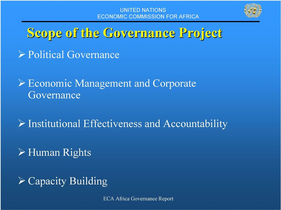 Corporate Governance Institutional