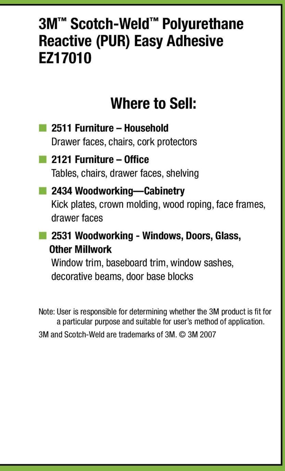 faces n 2531 Woodworking - Windows, Doors, Glass, Other Millwork Window trim, baseboard trim, window sashes, decorative beams, door base