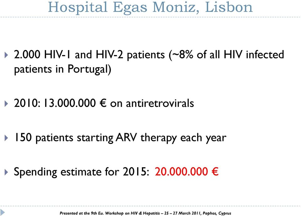 patients in Portugal) 2010: 13.000.