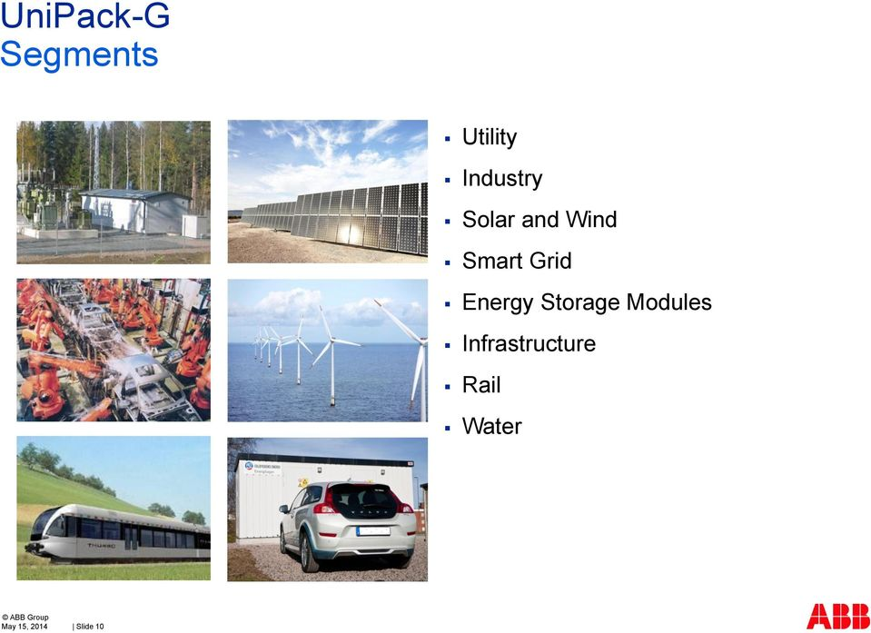Energy Storage Modules