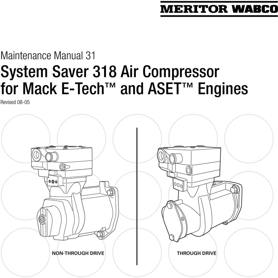 Mack E-Tech and ASET Engines