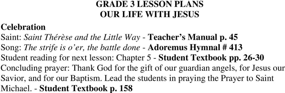lesson: Chapter 5 - Student Textbook pp.
