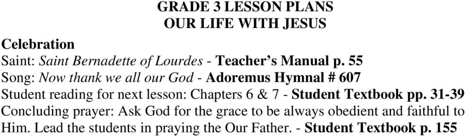 lesson: Chapters 6 & 7 - Student Textbook pp.